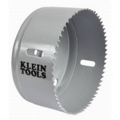 Klein Tools 31566 Klein Tools 31566 Great White™ Variable Pitch Hole Saw; 4-1/8 Inch, Cobalt Bi-Metal