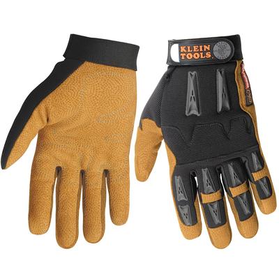 Klein Tools 40069 Klein Tools 40069 Journeyman™ K4 Leather Work Gloves; X-Large, Leather