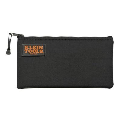 Klein Tools 5139PAD Klein Tools 5139PAD Padded Zipper Tool Bag; Ballistic Nylon, Black