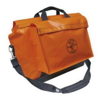 Klein Tools 5181ORA Klein Tools 5181ORA Equipment Bag; Vinyl, Orange, 1 Outside Pockets