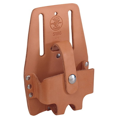 Klein Tools 5196 Klein Tools 5196 Large Tape Rule Holder; 7 Inch Width x 5 Inch Height, Leather