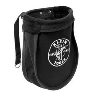 Klein Tools 51A Klein Tools 51A Nut and Bolt Pouch; Canvas, Black, 1 Inside Pockets
