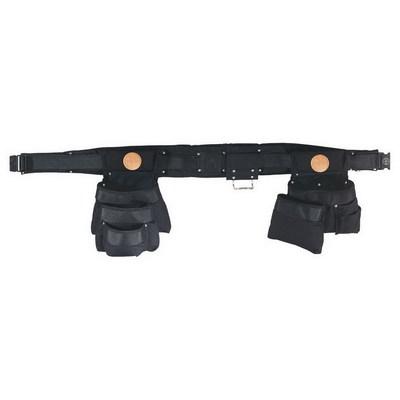 Klein Tools 5709M Klein Tools 5709M Powerline™ Combo Tool Belt Set; 2 Inch Belt Width, Medium, Black, 11 Pockets