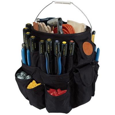 Klein Tools 5777 Klein Tools 5777 Tool Organizer; 45 Pocket, Polyester, Black