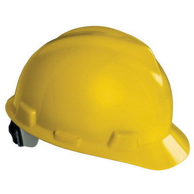 Klein Tools 60017 Klein Tools 60017 V-Gard® and Fas-Trac® Hard Cap; 6 - 8 Head Sizes, Yellow