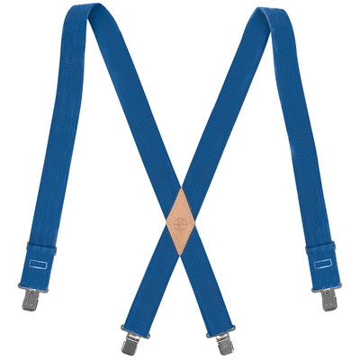 Klein Tools 60210B Klein Tools 60210B Suspender; Universal, Nylon Web, Blue