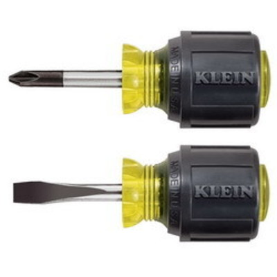 Klein Tools 85071 Klein Tools 85071 Cushion Grip Screwdriver Set; 2-Piece