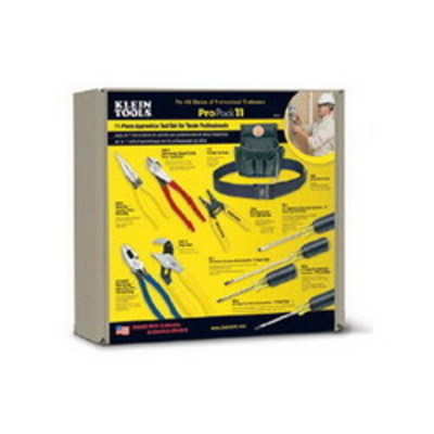 Klein Tools 92911 Klein Tools 92911 Professional Apprentice Tool Set; 11 Pieces