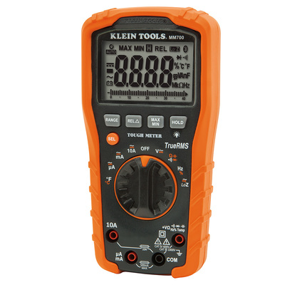 Klein Tools MM700 Klein Tools MM700 Digital Multimeter TRMS/Low Impedance
