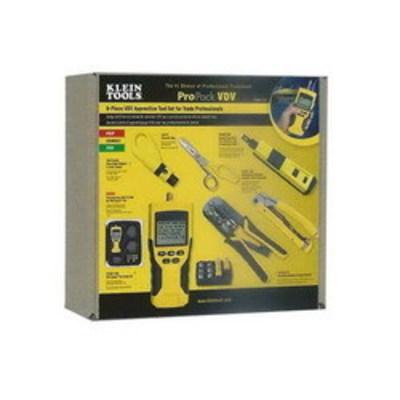 Klein Tools VDV001819 Klein Tools VDV001-819 VDV Professional Apprentice Tool Set; 6 Pieces