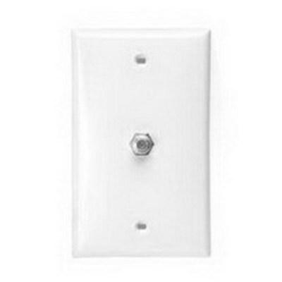 Leviton 40981-WD Leviton 40981-WD Wallplate; White