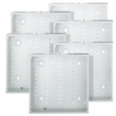 Leviton 47605-14G Leviton 47605-14G Structured Media® 140 Series Enclosure; Flush Mount, White, Bulk Pack
