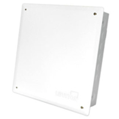 Leviton 47605-1MG Leviton 47605-1MG Structured Media® Enclosure With Cover; Surface/Recess Mount, White