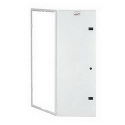 Leviton 47605-42P Leviton 47605-42P Structured Media® Premium Hinged Door With Trim Ring; Flush Mount, White