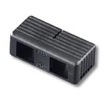 Leviton 49886-DSC Leviton 49886-DSC Fast-Cure® SC Duplex Clip; Multimode Fiber, Black