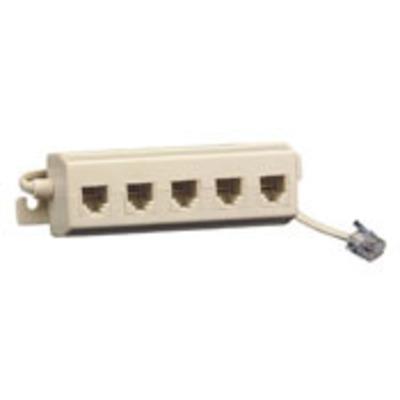 Leviton C0261-I Leviton C0261-I Phone Adapter; Ivory