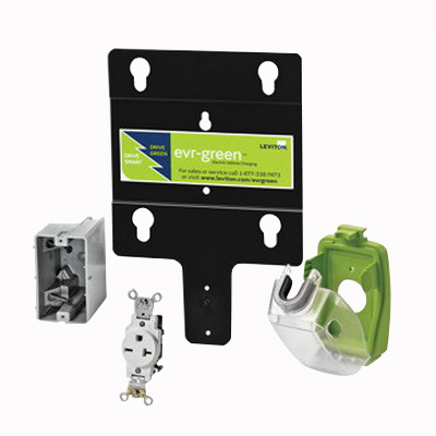 Leviton EVK02-M Leviton EVK02-M Evr-Green® Charging Station Pre-Wire Installation Kit; 20 Amp, Blue