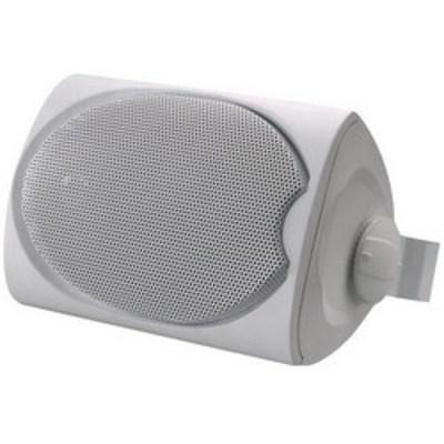 Leviton SGO99-W Leviton SGO99-W Outdoor/Utility Loudspeaker With bracket; 5.25 Inch Silicate-Fiber cone Woofer, 87 dB Sensitivity
