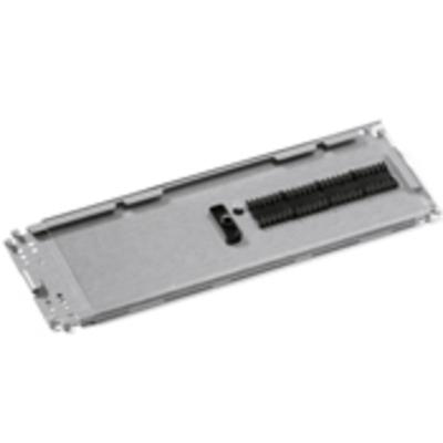 Leviton T4LHS-P12 Leviton T4LHS-P12 Heat Shrink Splice Tray; 24-Fiber, Single Mode/Multi-Mode Fiber, 4.07 Inch Width x 11-3/4 Inch Height x 0.32 Inch Depth, Aluminum