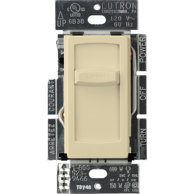 Lutron CTCL-150H-IV CTCL-150H-IV LUTRON CONTOUR 150W STO CLAM IN IVORY