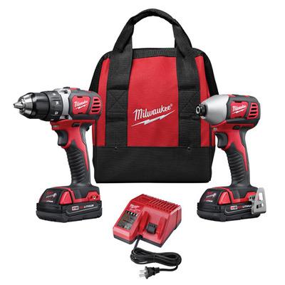 Milwaukee Electric Tools 2691-22 Milwaukee Tools 2691-22 M18™ 2 Piece Cordless Tool Combo Kit