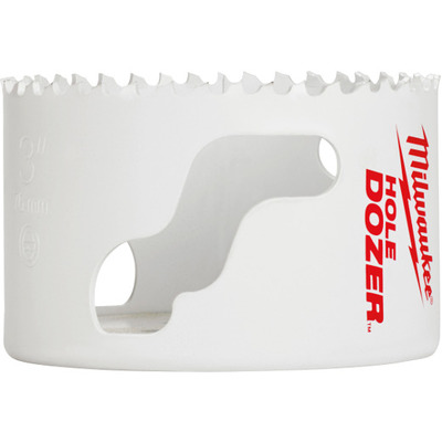 Milwaukee Electric Tools 49-56-0163 Milwaukee Tools 49-56-0163 Ice Hardened™ Bi-Metal Hole Saw; 2-3/4 Inch, 1/Pack