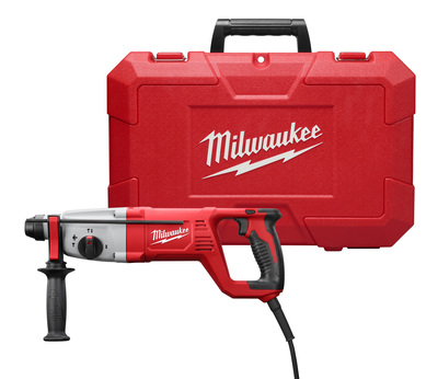 Milwaukee Electric Tools 5262-21 Milwaukee Tools 5262-21 SDS Plus Rotary Hammer Kit; 120 Volt, 17 Inch Length x 7/8 Inch Chuck