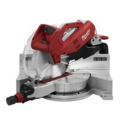 Milwaukee Electric Tools 6950-20 Milwaukee Tools 6950-20 Dual-Bevel Sliding Compound Miter Saw; 120 Volt AC, 15 Amp, 5/8 Or 1 Inch Arbor, 48 Degree Bevel Capacity, 12 Inch Blade, 3200 RPM