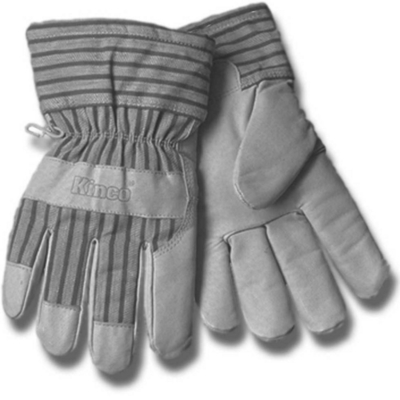 Minerallac 67604 Cully 67604 Minerallac® Work Gloves; Large, Tan, Pigskin Leather