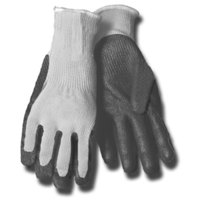 Minerallac 67652 Cully 67652 Minerallac® Gripping Utility Gloves; Large, Gray/Blue
