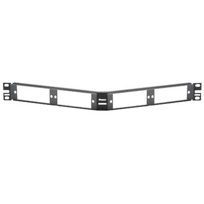 Panduit CFAPPBL1A Panduit CFAPPBL1A Opticam® Patch Panel; Rack Mount, 62.5/125 um, Multi-Mode, Black