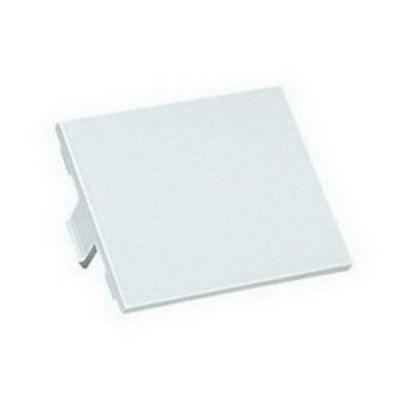 Panduit CHB2IW-X Panduit CHB2IW-X Mini-Com® 1/2-Size Blank Insert; Plastic, Off White