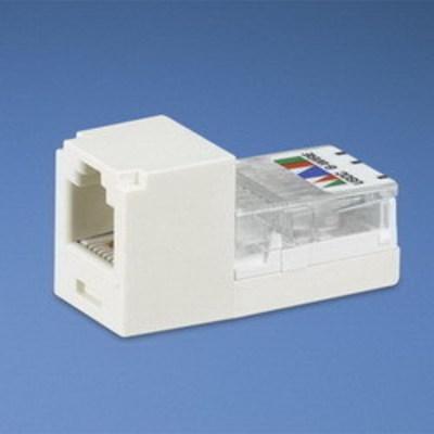 Panduit CJ66UEIY Panduit CJ66UEIY Mini-Com® Mini-Jack™ USOC Category 3 RJ11 Jack Module; 6P6C, Electric Ivory