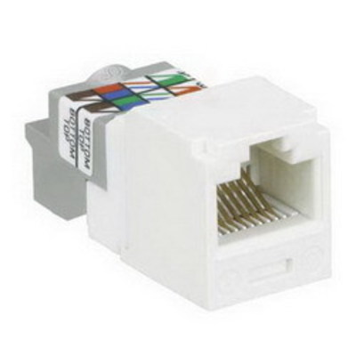 Panduit CJ688TPOR Panduit CJ688TPOR Mini-Com® TX6™ Category 6 RJ45 Jack Module; 8P8C, Orange