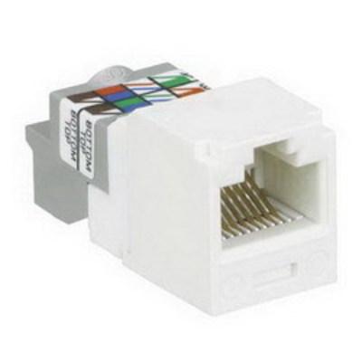 Panduit CJ688TPWH Panduit CJ688TPWH Mini-Com® TX6™ Category 6 RJ45 Jack Module; 8P8C, White