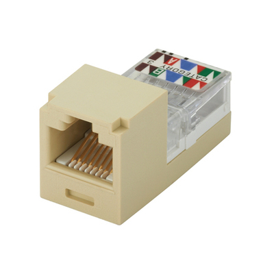 Panduit CJ88EIY Panduit CJ88EIY Mini-Com® Mini-Jack™ USOC Category 3 RJ45 Jack; 8P8C, Electric Ivory