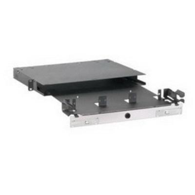 Panduit FRME1U Panduit FRME1U Opticom® Rack Mount Fiber Enclosure; 36-Port1-Rack Unit, Black