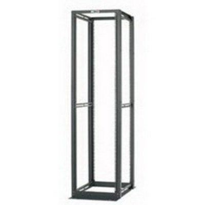 Panduit FXTYP7575YNF042 Panduit CMR4P84 4-Post Cable Management Rack System; 12-Rack Unit, Steel, Black