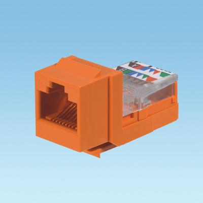 Panduit NK5E88MORY Panduit NK5E88MORY NetKey® Category 5 Jack Module; 8P8C, Orange