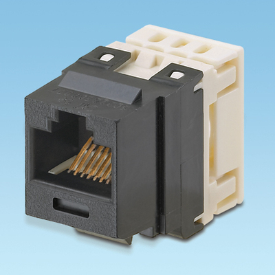 Panduit NK688MBL Panduit NK688MBL NetKey® Category 6 Jack Module; 8P8C, Black