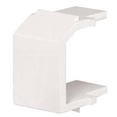 Panduit NKBMIW-X Panduit NKBMIW-X NetKey® Blank Keystone Module; Off White