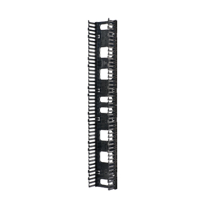 Panduit NRVF6 Panduit NRVF6 NetRunner™ Dual Sided Vertical Cable Manager; 80.4 Inch x 12 Inch Width x 13.8 Inch Depth, Steel Backbone, ABS Fingers, Black