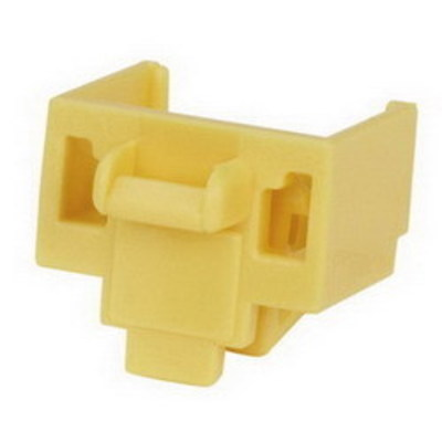 Panduit PSL-DCJB-YL-C Panduit PSL-DCJB-YL-C RJ45 Jack Blockout Device; Polycarbonate, Yellow, 100/Pack