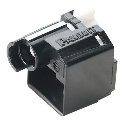 Panduit PSL-DCPL-BL Panduit PSL-DCPL-BL Standard RJ45 Plug Lock-In Device; Polycarbonate, Black