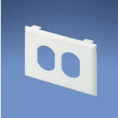 Panduit T70PWH Panduit T70PWH Pan-Way® 1-Gang Faceplate; Plastic, White