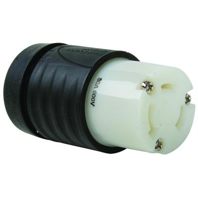 Pass & Seymour L930C L930-C P-S CONNECTOR 3W30A600V T/L B&W