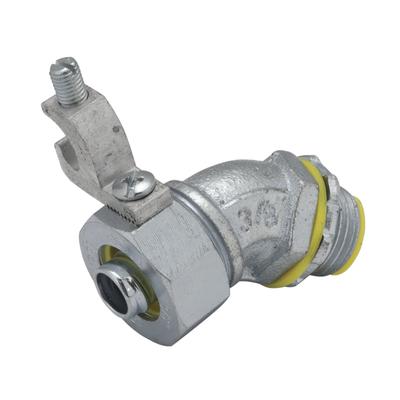 RACO 3568-3 3568-3 RACO LIQUIDTIGHT CONN W/GROUND LUG 45 2 IN