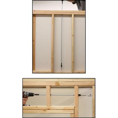 Rack-A-Tiers 95000 Rack-A-Tiers 95000 Javelin Bit Extension Kit; 10 ft