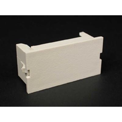 Wiremold  CM2-BL Wiremold CM2-BL Blank Module; Plastic, Ivory