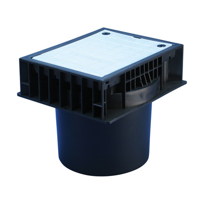 nVent ERICO PIT03 Erico PIT03 Inspection Housing; 241 mm Length x 207 mm Width x 216 mm Height, High Impact Polypropylene